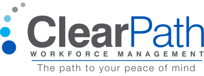 logo ClearPath Workforce Management The path to your peace of mind